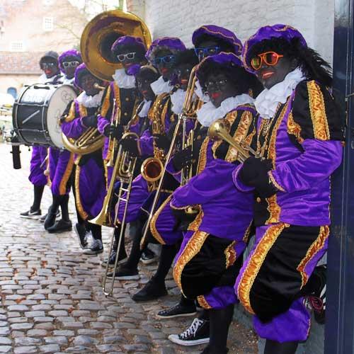 Zwarte Pieten Band Cool Sinterklaas