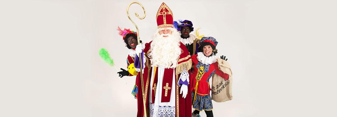 Bedrijfsfeest Sinterklaas inhuren huren Hulp Sinterklaas