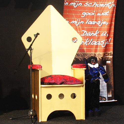 Sinterklaas troon huren inhuren
