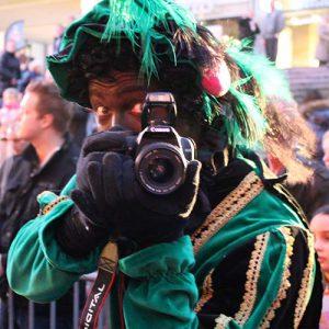 Zwarte Piet inhuren Fotograaf