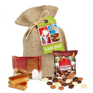 Sinterklaas snoepzakjes jute zakjes kopen